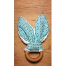 Hochet lapin bleu