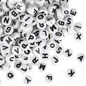 Bracelet lettres blanches
