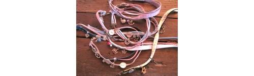 1 - Mettez dans votre panier votre bracelet et vos médaillons prénoms